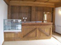Casa della regola di nebbi�... Lavori di rivestimento in legno eseguiti in collaborazione con la falegnameria Angelo Da Vi�